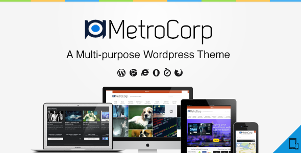 MetroCorp -  A Multipurpose Business Theme