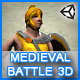 Medieval Battle 3D Game - ActiveDen Item for Sale