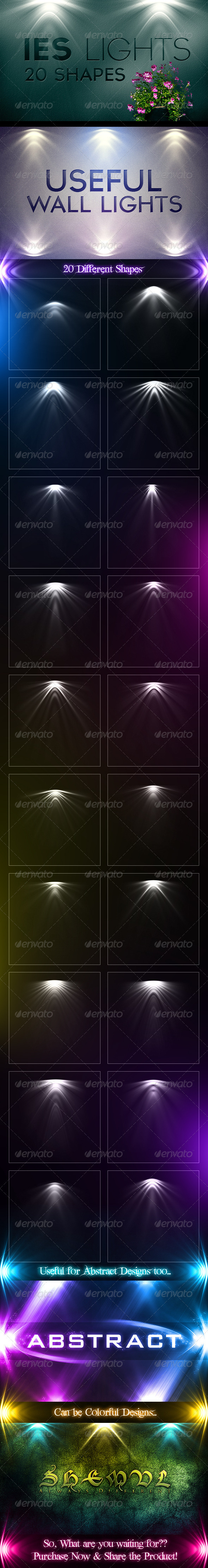 20 IES Light Effects - Miscellaneous Backgrounds
