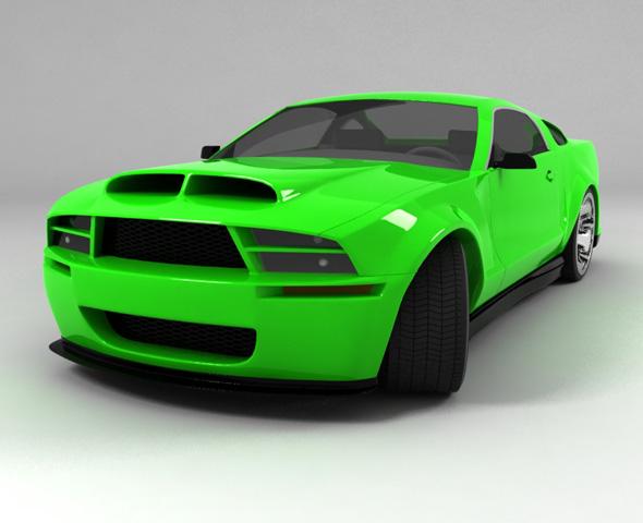 3DOcean Sport-car 113269