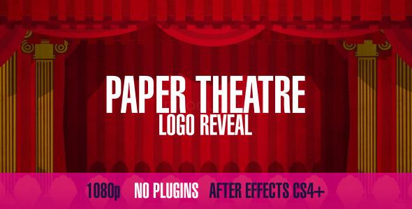 VideoHive Paper Theatre Logo Reveal 3216733