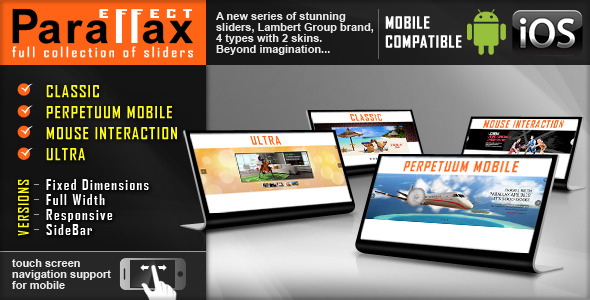 Parallax Slider - Responsive jQuery Plugin - CodeCanyon Item for Sale