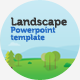 Landscape Presentation Template - GraphicRiver Item for Sale