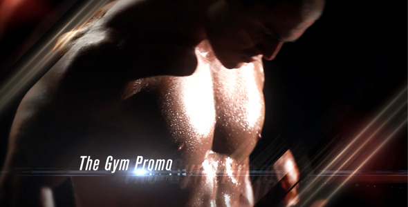 VideoHive The Gym Promo 3218931