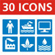Universal 30 Icons - GraphicRiver Item for Sale