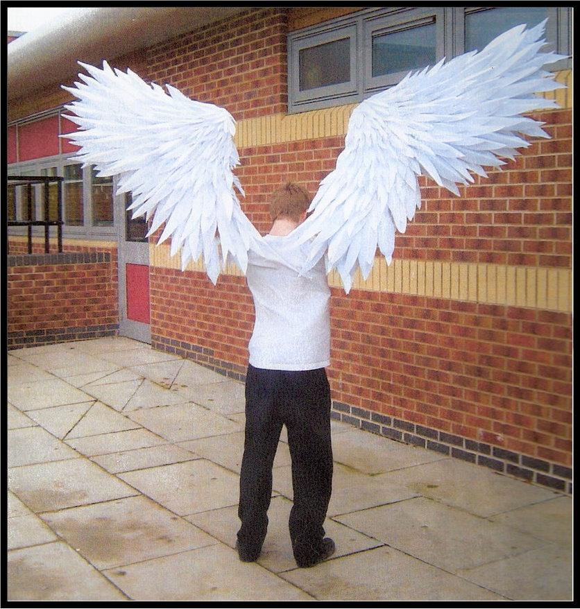 Как надо сделать чтобы у меня были крылья