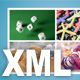 XML based cute 4 pictures viewing effect, with resize function. - ActiveDen Item for Sale