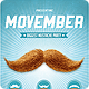 Movember Retro Party Flyer Template - GraphicRiver Item for Sale