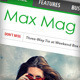 Max Mag - Responsive Wordpress Magazine Theme - ThemeForest Item for Sale