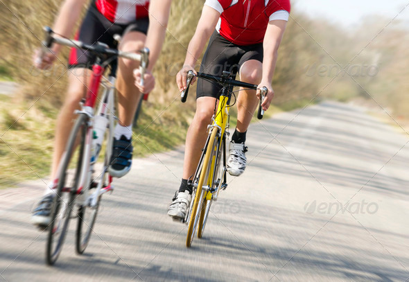Bicycle race - Stock Photo - Images