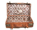 Old leather suitcase - PhotoDune Item for Sale