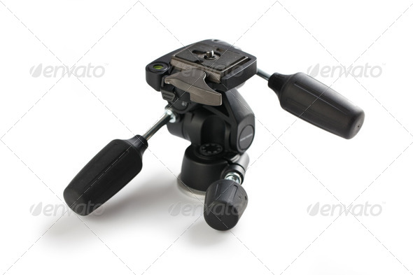 tripod head - Stock Photo - Images
