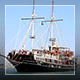 Old Ship Maneuvers in Harbour - VideoHive Item for Sale