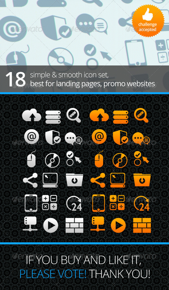 Tech Icon Set - Web Icons