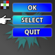 Subtle Game GUI Selection and Click
