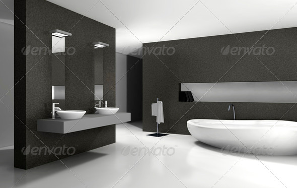 Bathroom Interior Design - Stock Photo - Images