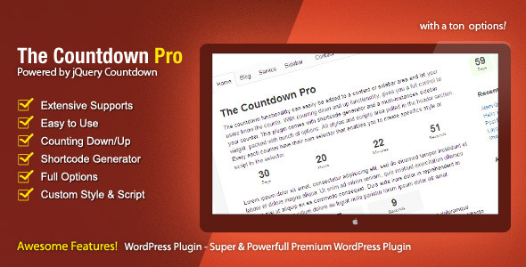 CodeCanyon The Countdown Pro 3228499