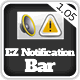 EZ Notification Bar - CodeCanyon Item for Sale