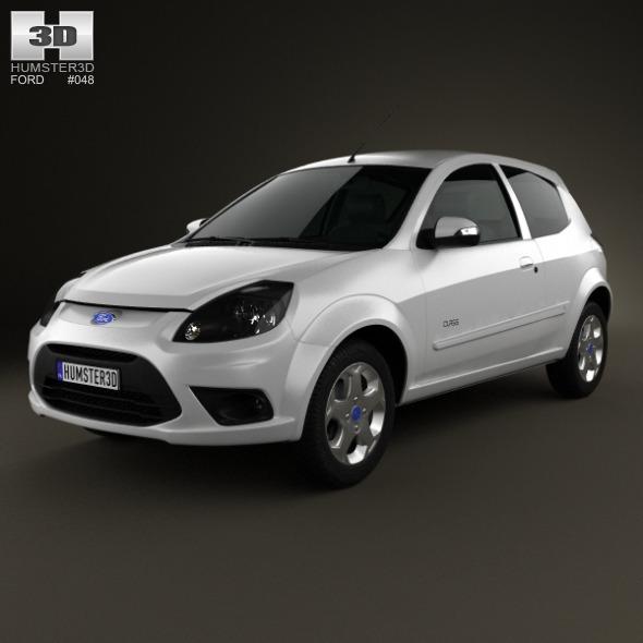 3DOcean Ford Ka Brazil 2012 3229499