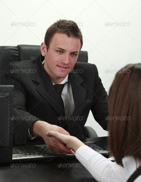 The Deal - Stock Photo - Images