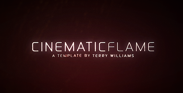VideoHive Cinematic Flame 3229980