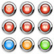 Media player buttons set - GraphicRiver Item for Sale