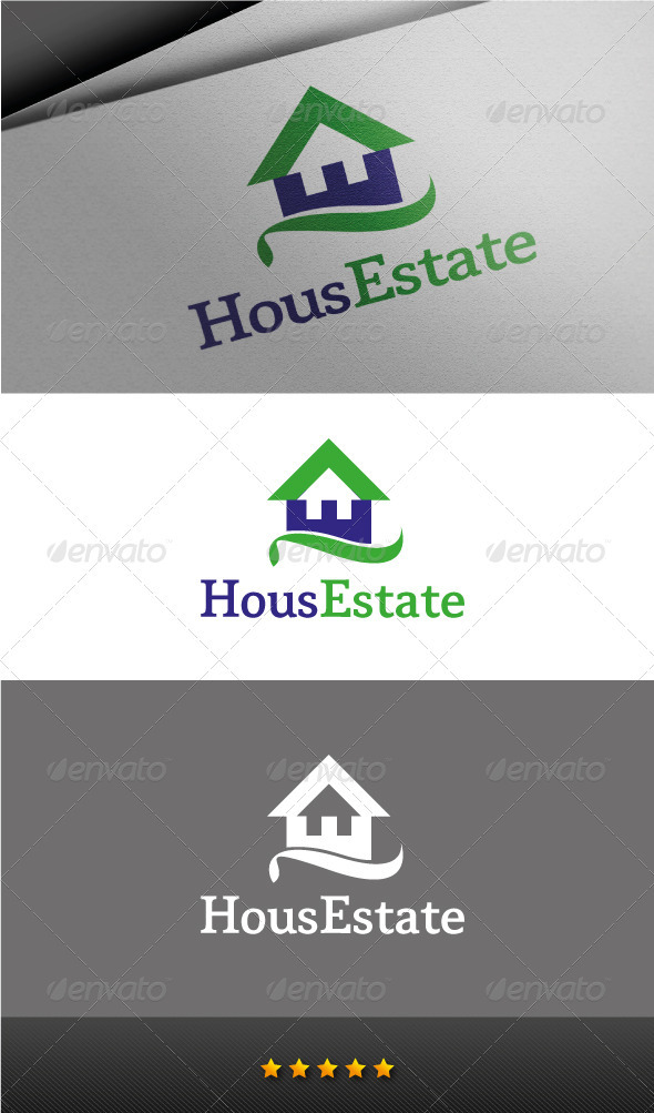 GraphicRiver House Estate Logo 3232397