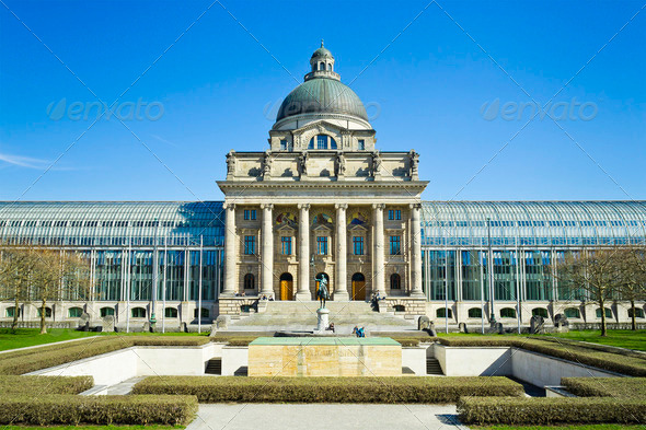 Bayerische Staatskanzlei - Stock Photo - Images