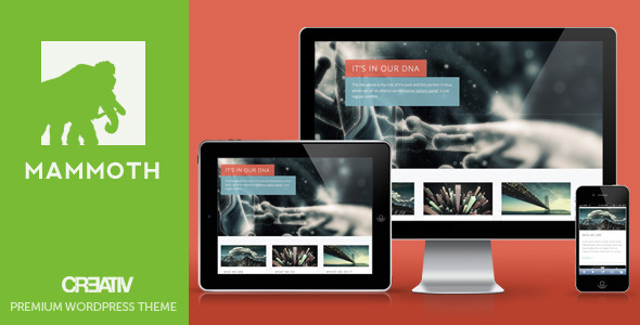 ThemeForest Mammoth Responsive WordPress 3218252