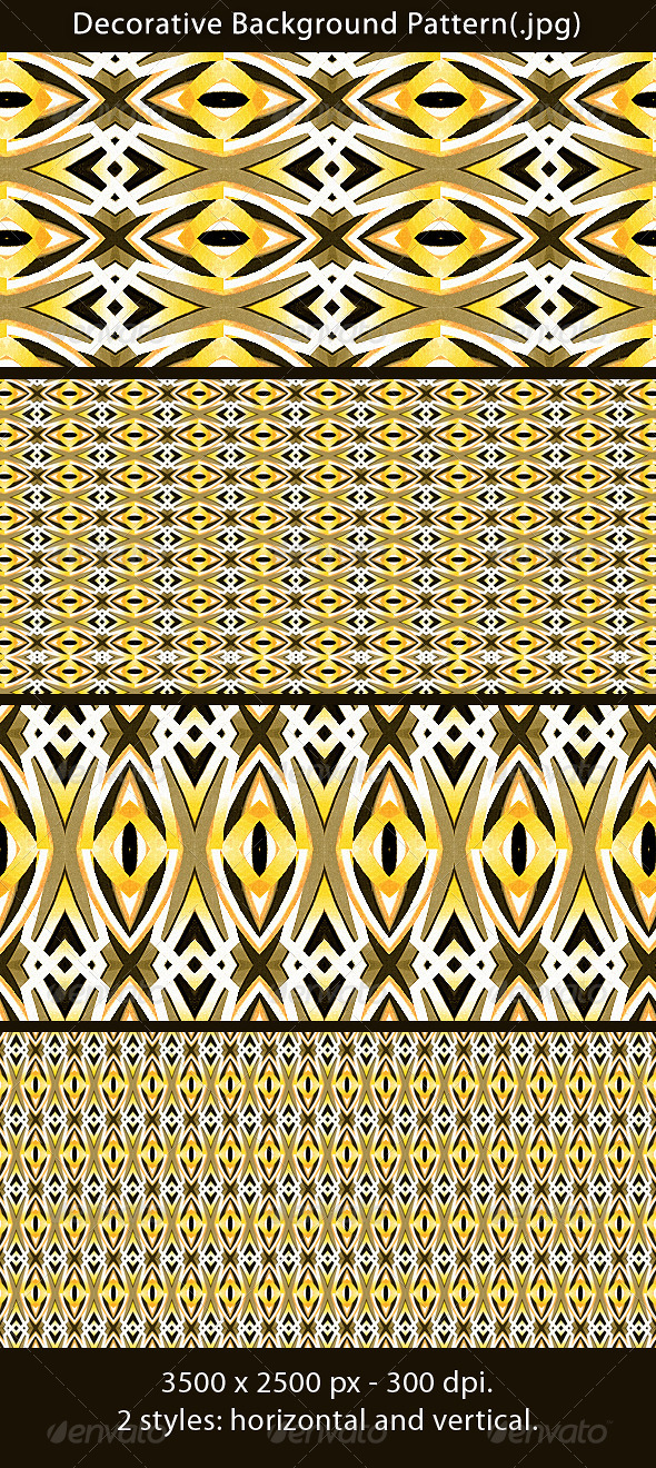 Decorative Background Pattern - Patterns Backgrounds