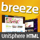 Breeze - Professional Corporate and Portfolio HTML - ThemeForest Item for Sale