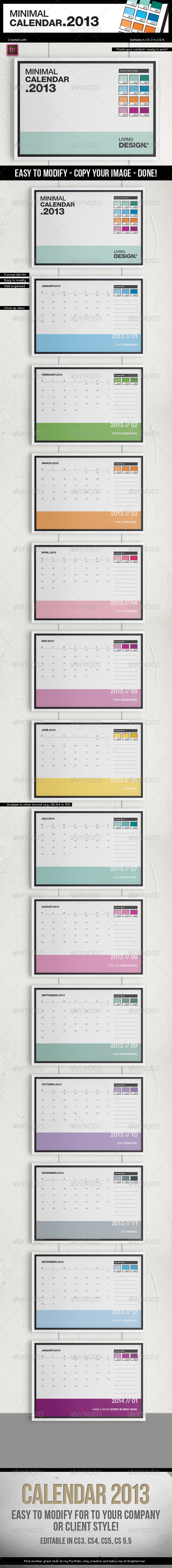 2013 a4 template pantone style 3239133 indesign print template