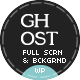 Ghost WP Full Screen Video, Image with Audio - ThemeForest Item for Sale