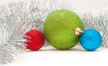 colored balls and garland - PhotoDune Item for Sale