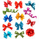 Big set of colorful gift bows with ribbons - GraphicRiver Item for Sale