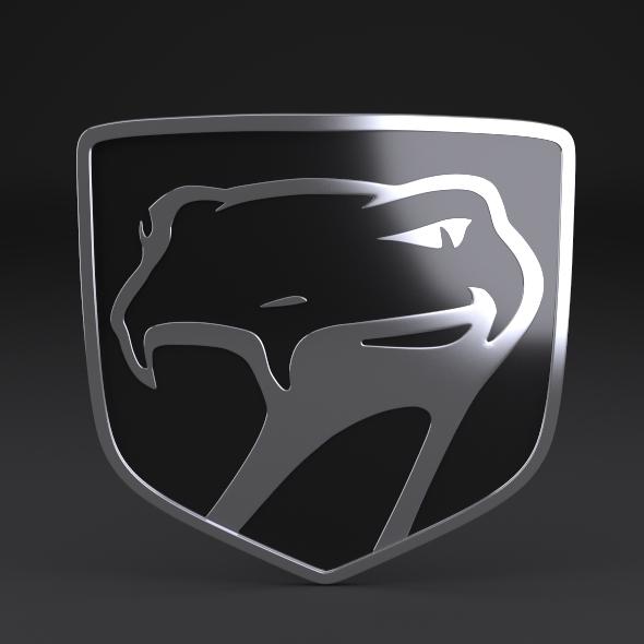 3DOcean Dodge Viper Sneaky Pete logo 3240548