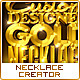 Custom Designed Gold/Silver Necklace Creator - GraphicRiver Item for Sale