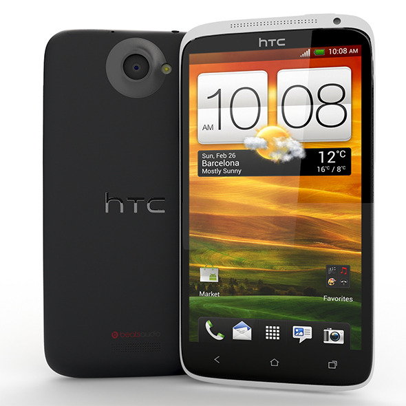 HTC One X - 3DOcean Item for Sale