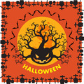 Halloween RIP border background ornage - PhotoDune Item for Sale