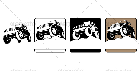 GraphicRiver Off-Road Symbol 114265