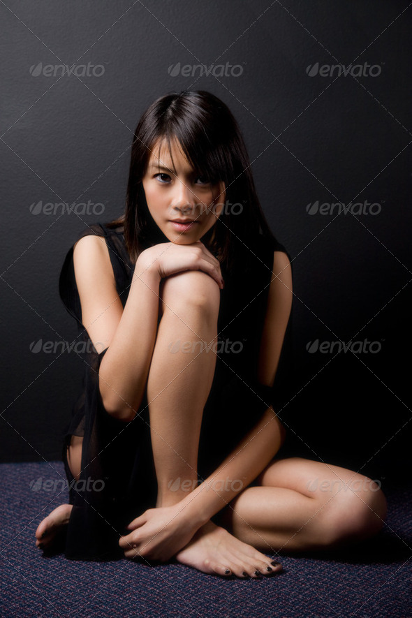 Beautiful asian woman - Stock Photo - Images