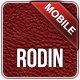 Rodin jQuery Mobile Web Template - ThemeForest Item for Sale