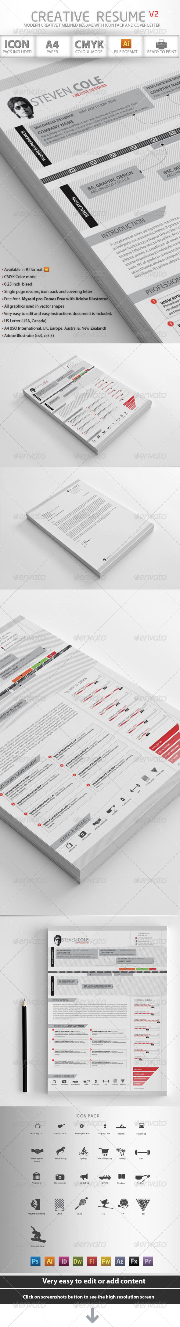 Creative Resume Advance - Resumes Stationery