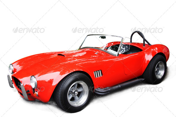 PhotoDune Classic sport car 2049646