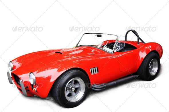 PhotoDune Classic sport car 2049646