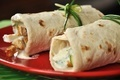 Shawarma on red plate - PhotoDune Item for Sale