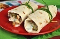 Two shawarmas on red plate - PhotoDune Item for Sale
