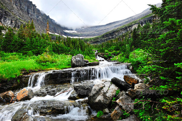 Glacier National Park - Stock Photo - Images
