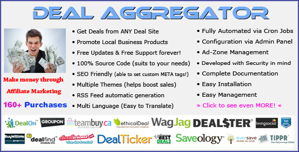 CodeCanyon Deal Aggregator Platform 1443711