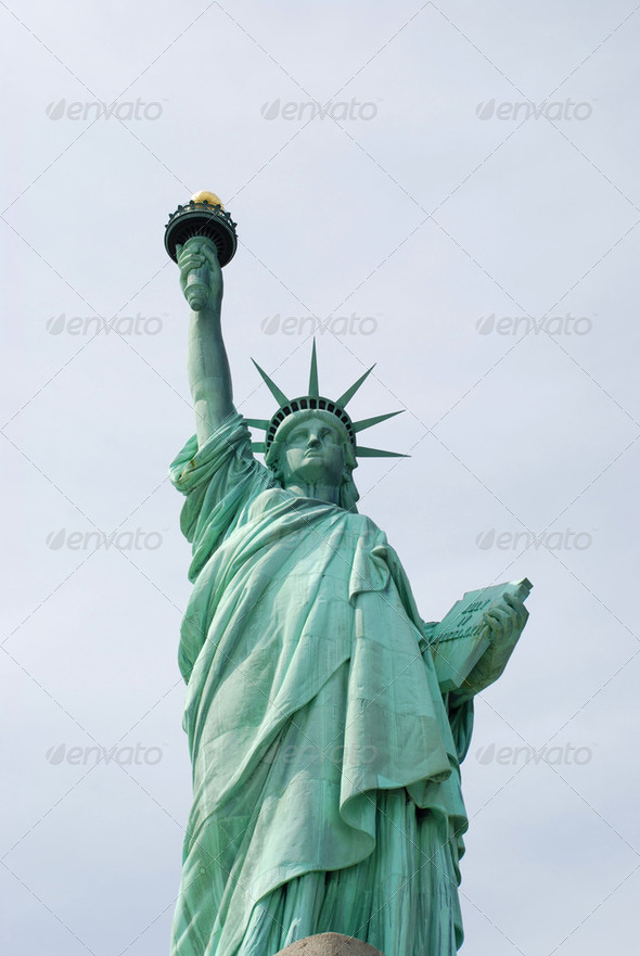 Statue of Liberty New York - Stock Photo - Images